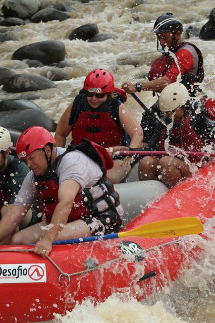 Rafting in Costa Rica after two knee replacements
