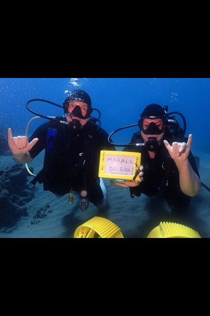 Scuba diving in Hawaii after knee replacement